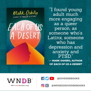 I found young adult much more engaging as a queer person, as someone who's Latinx, someone who has depression and anxiety and PTSD
