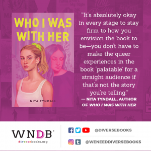 """It's absolutely okay in every stage to stay firm to how you envision the book to be—you don't have to make the queer experiences in the book """"palatable"""" for a straight audience if that's not the story you're telling."""