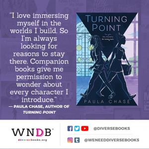 I love immersing myself in the worlds I build. So I'm always looking for reasons to stay there. Companion books give me permission to wonder about every character I introduce.