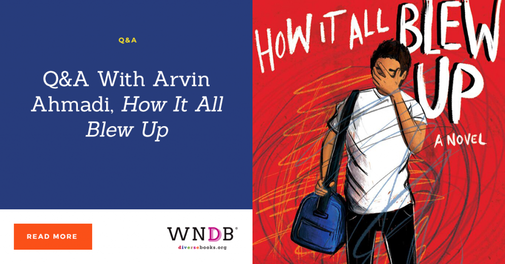 Q&A With Arvin Ahmadi, How It All Blew Up