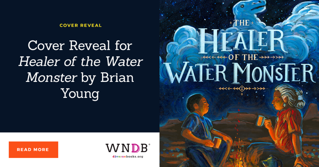 Cover Reveal for Healer of the Water Monster by Brian Young