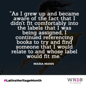 As I grew up and became aware of the fact that I didn't fit comfortably into the labels that I was being assigned, I continued referencing books to try and find someone that I would relate to and whose label would fit me.