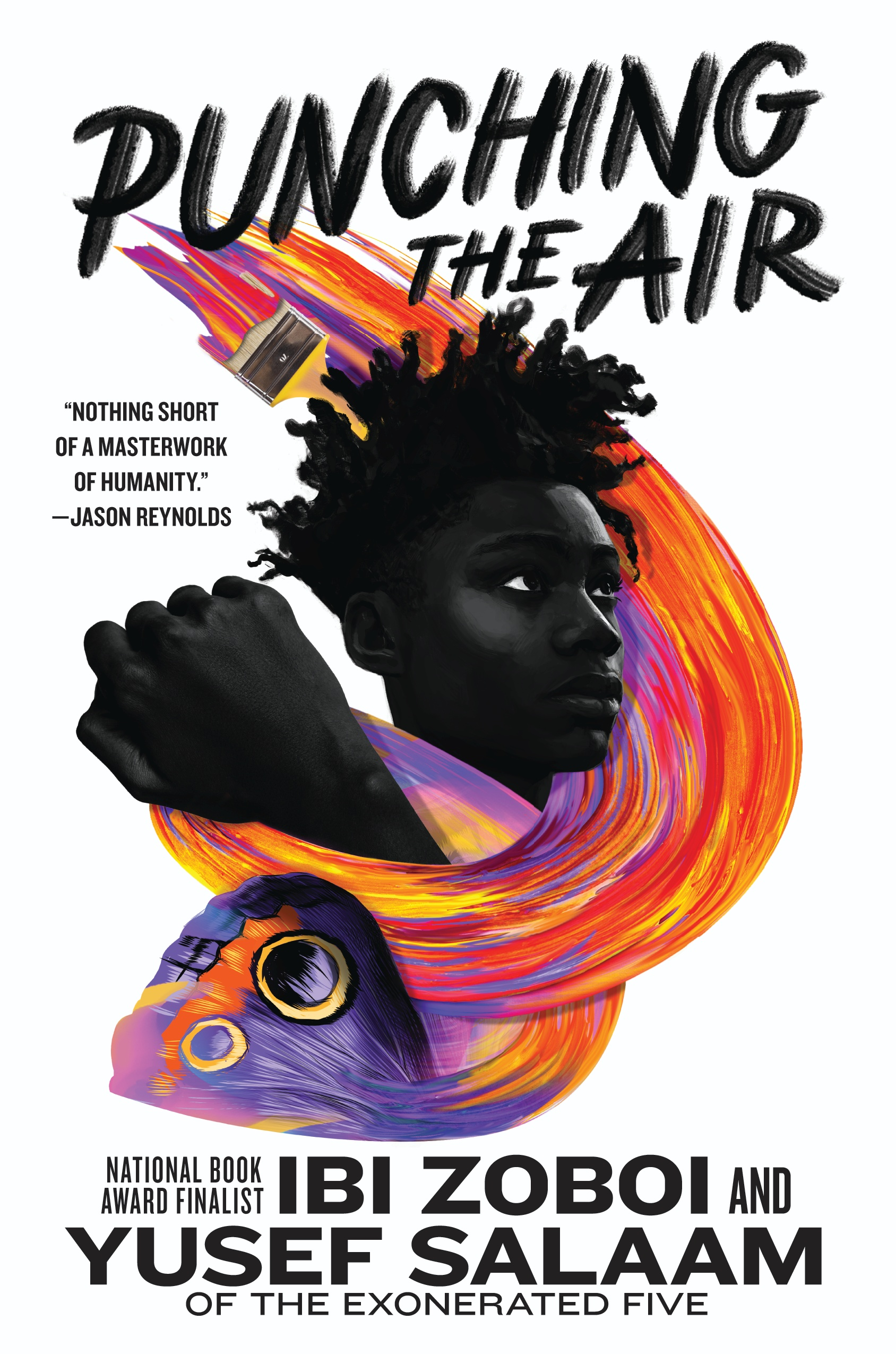 Punching the Air by Ibi Zoboi and Yusef Salaam (illustrations by Omar T. Pasha)