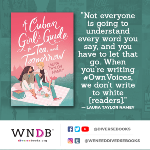 Not everyone is going to understand every word you say, and you have to let that go. When you're writing #OwnVoices, we don't write to white [readers].