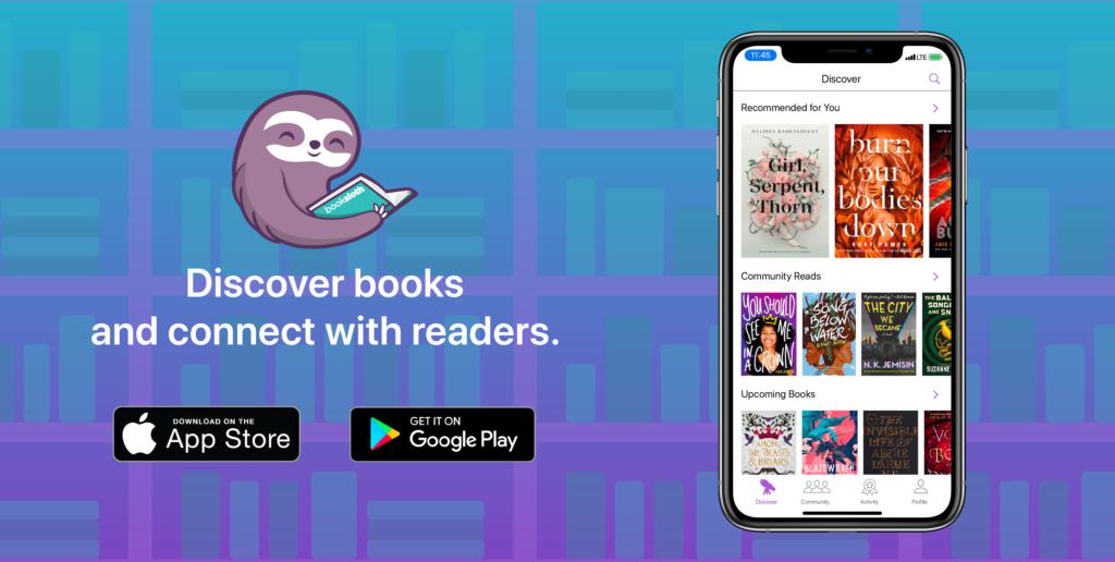 BookSloth app banner