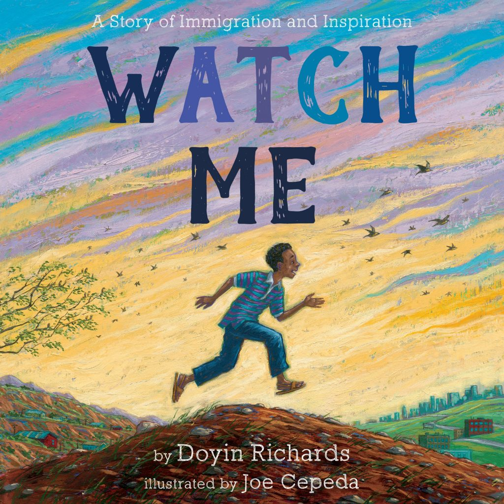Cover for WATCH ME by Doyin Richards