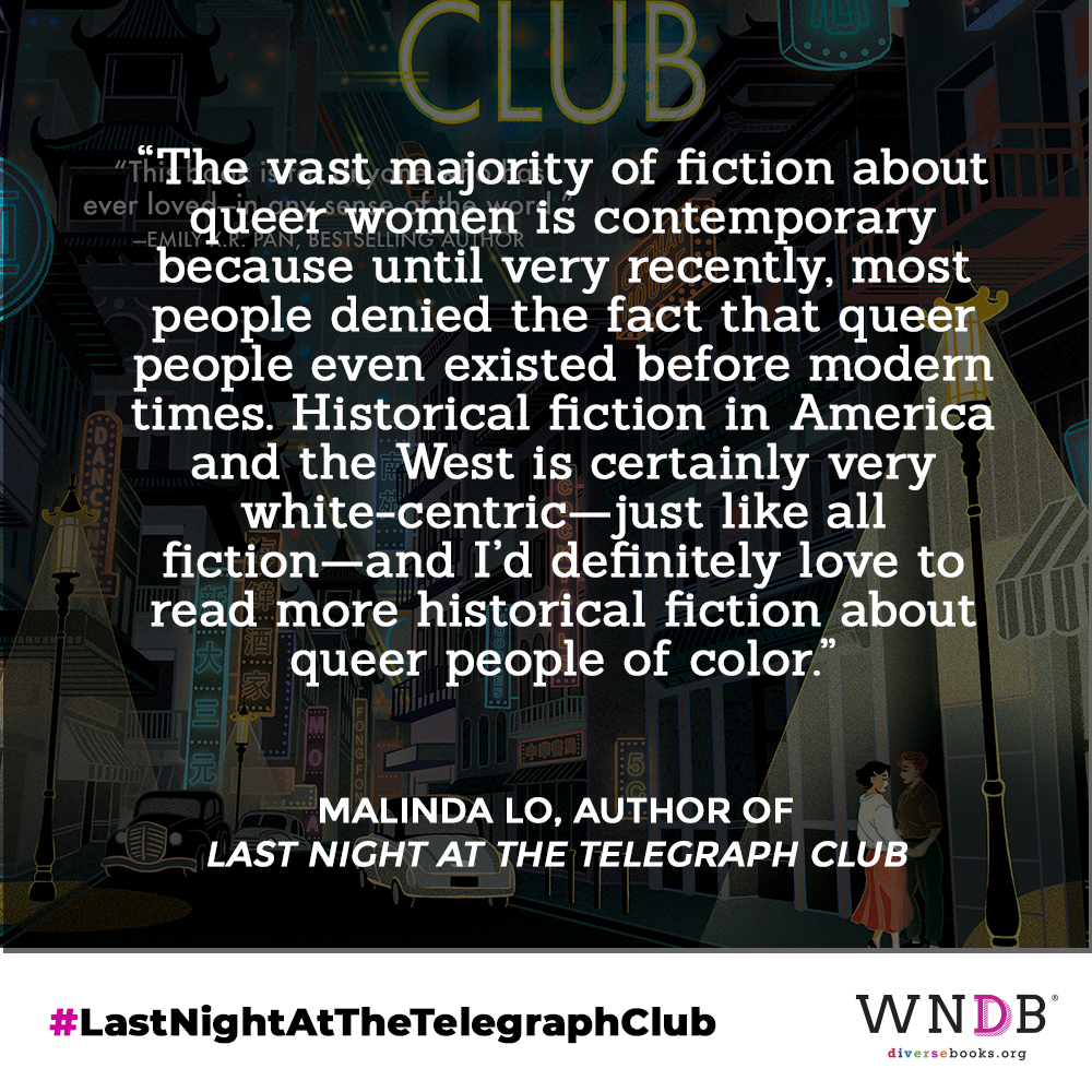 The vast majority of fiction about queer women is contemporary because until very recently, most people denied the fact that queer people even existed before modern times.  Historical fiction in America and the West is certainly very white-centric—just like all fiction—and I'd definitely love to read more historical fiction about queer people of color.