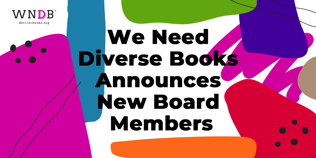 We Need Diverse Books Announces New Board Members