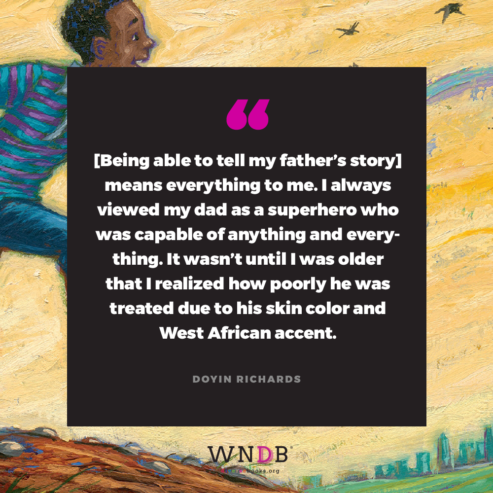 WATCH ME/Doyin Richards pull quote