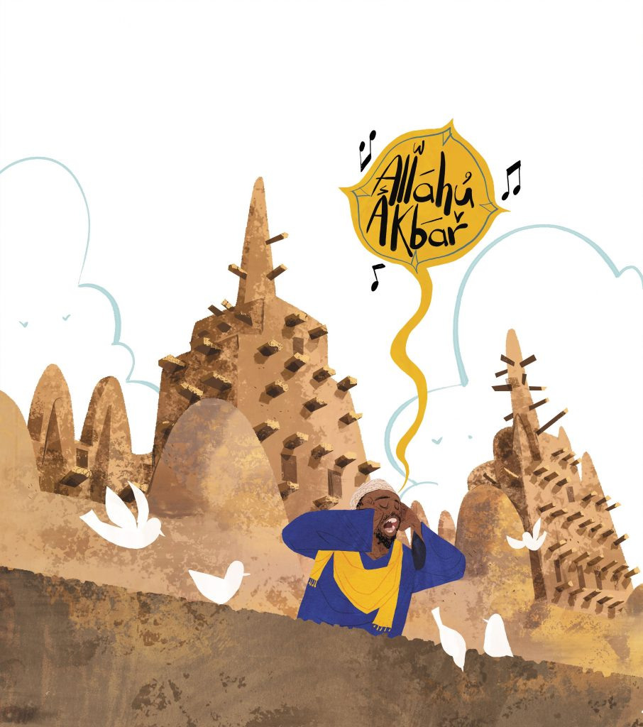page 18, The Great Mosque of Djenne, Mali. Art copyright credit Hatem Aly