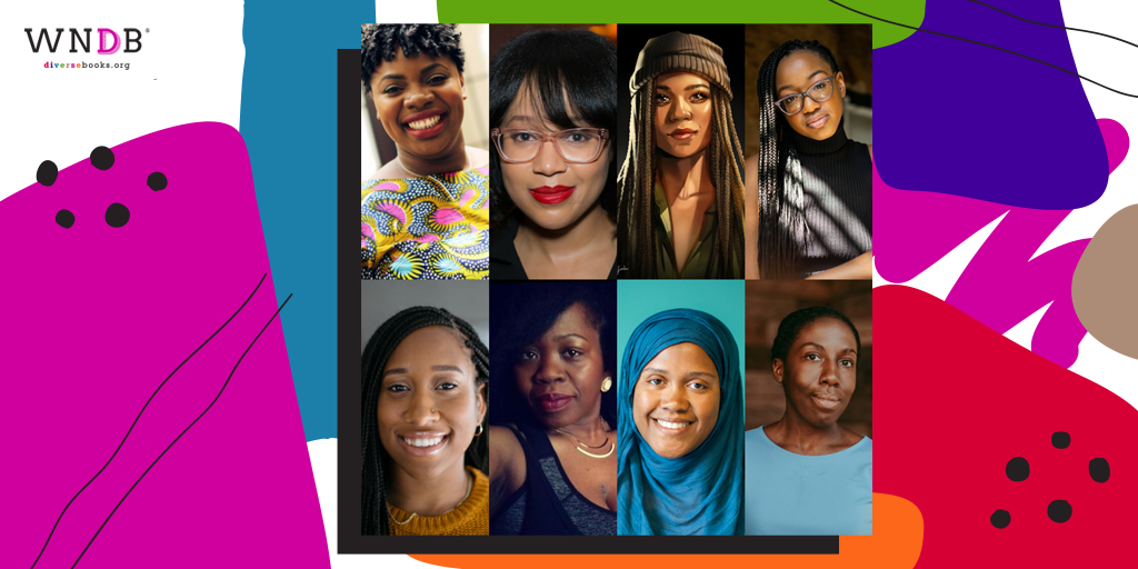 Graphic of Black blog contributors, organizers, and others featured on the WNDB blog