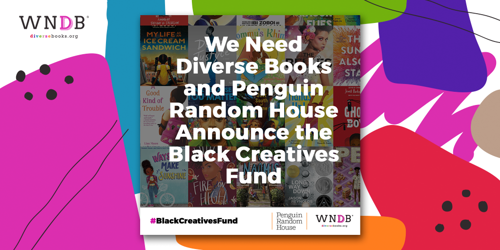 We Need Diverse Books and Penguin Random House Announce the Black Creatives Fund