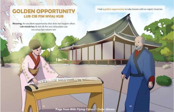 Golden opportunity idiom