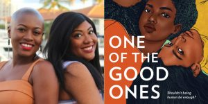 Maika & Marika Moulite's headshot and cover art for ONE OF THE GOOD ONES