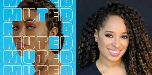 Tami Charles's headshot and cover art for MUTED
