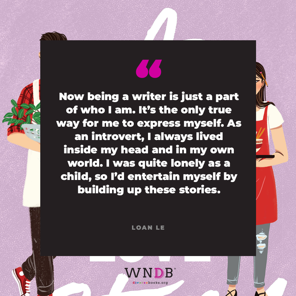 """Now being a writer is just a part of who I am,"" she concluded. ""It's the only true way for me to express myself. As an introvert, I always lived inside my head and in my own world. I was quite lonely as a child, so I'd entertain myself by building up these stories."""