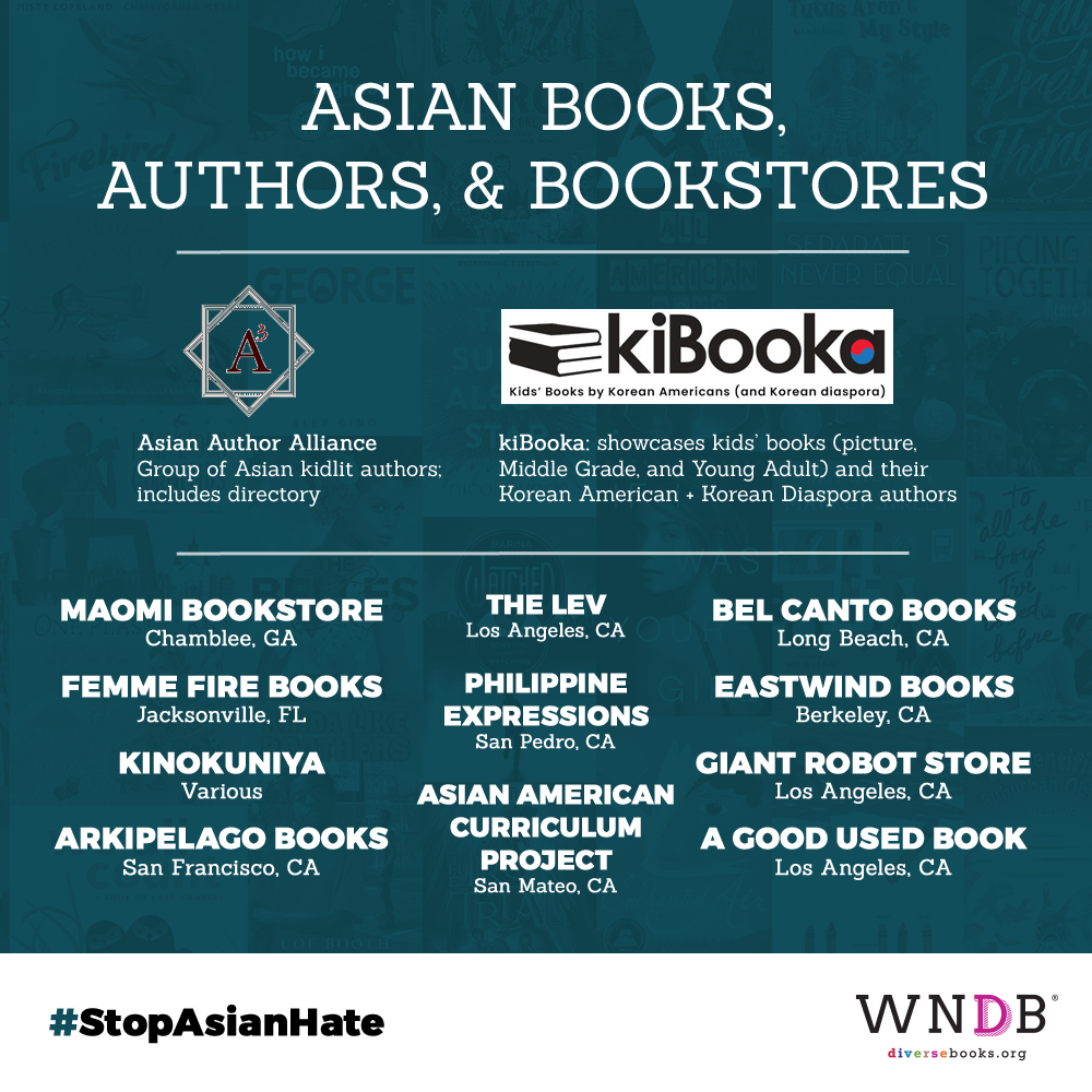 Asian books, authors, and bookstores