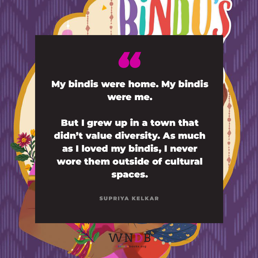 My bindis were home. My bindis were me. But I grew up in a town that didn't value diversity. As much as I loved my bindis, I never wore them outside of cultural spaces.