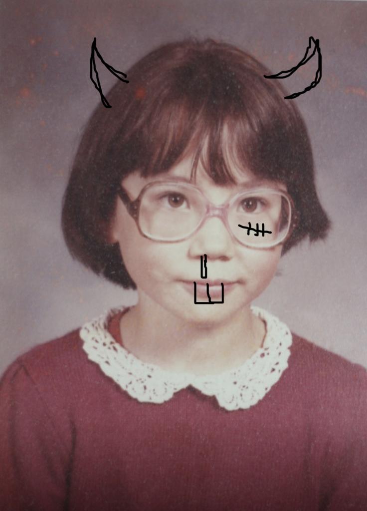 Robbi Behr childhood photo