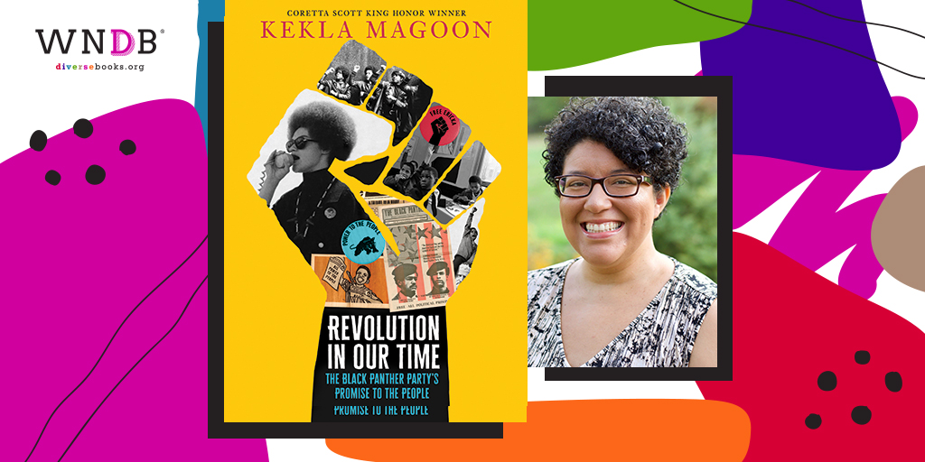 Cover Reveal for Revolution in Our Time by Kekla Magoon