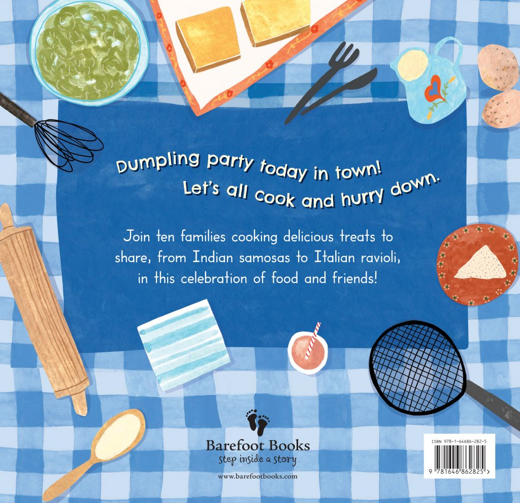 Dumpling Day back cover