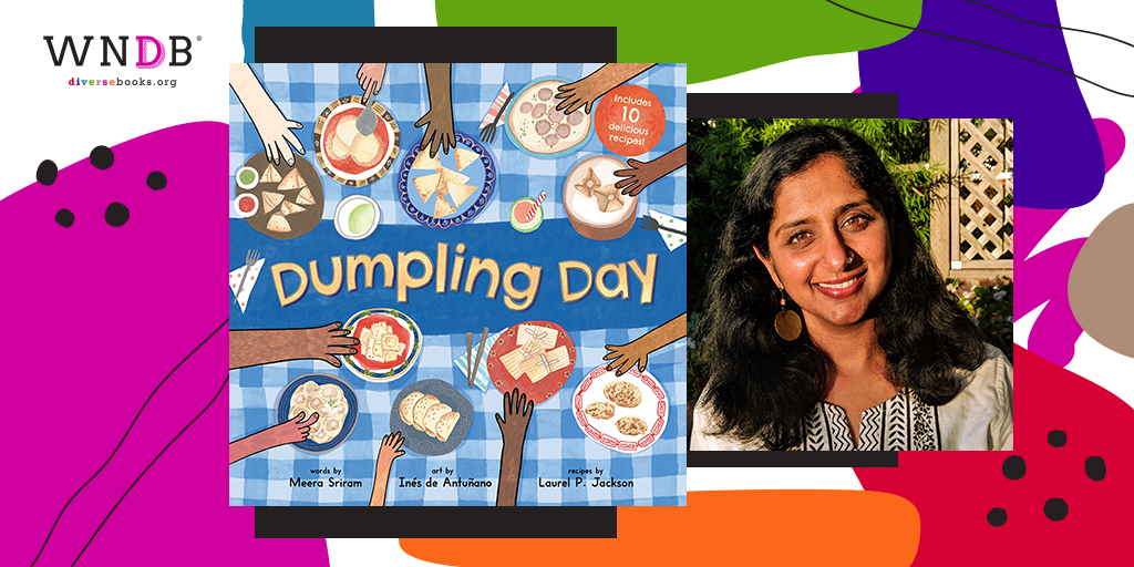 Cover Reveal for Dumpling Day by Meera Sriram, Illustrated by Inés de Antuñano