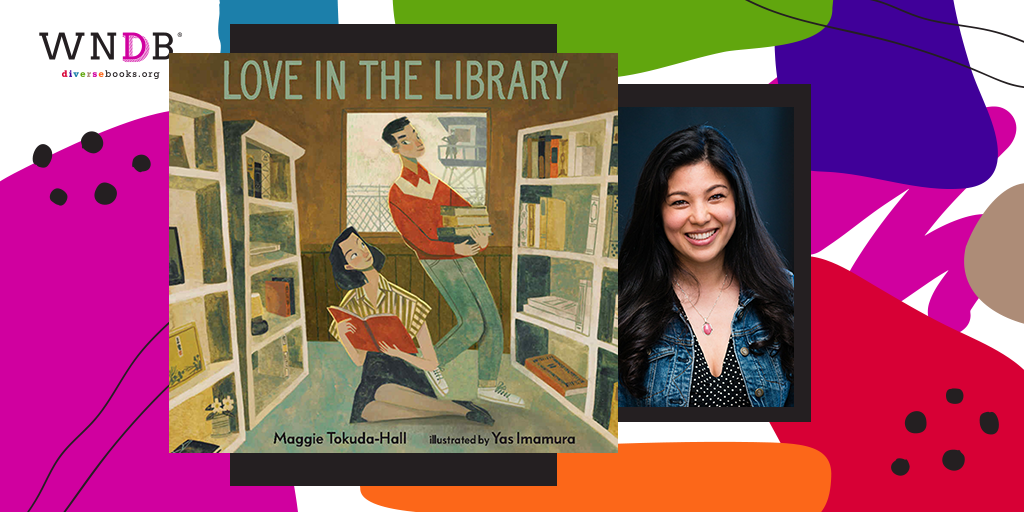 Cover Reveal for Love in the Library by Maggie Tokuda-Hall