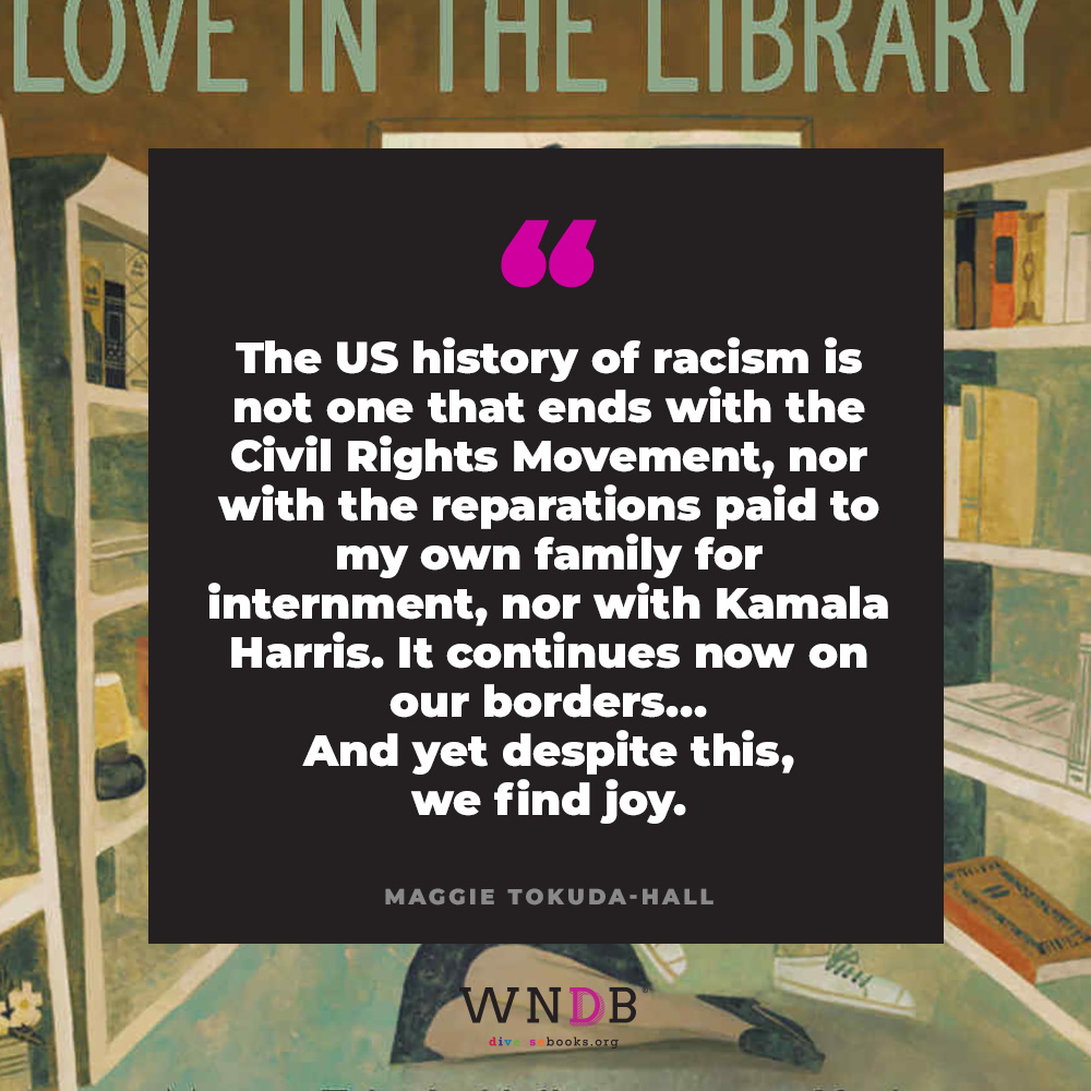 The US history of racism is not one that ends with the Civil Rights Movement, nor with the reparations paid to my own family for internment, nor with Kamala Harris. It continues now on our borders, with children locked in cages and torn from their families for the crime of wanting to be American. It continues on our streets when Black folk are murdered by the police. It continues in Muslim bans, in reservations, in mass incarceration, in medical apartheid, food deserts, and voter suppression.