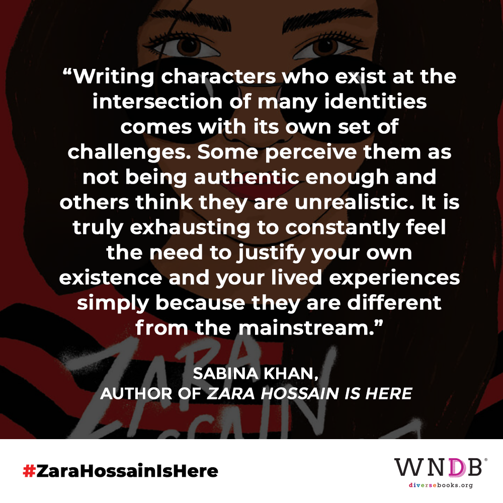 Writing characters who exist at the intersection of many identities comes with its own set of challenges. Some perceive them as not being authentic enough and others think they are unrealistic. It is truly exhausting to constantly feel the need to justify your own existence and your lived experiences simply because they are different from the mainstream.