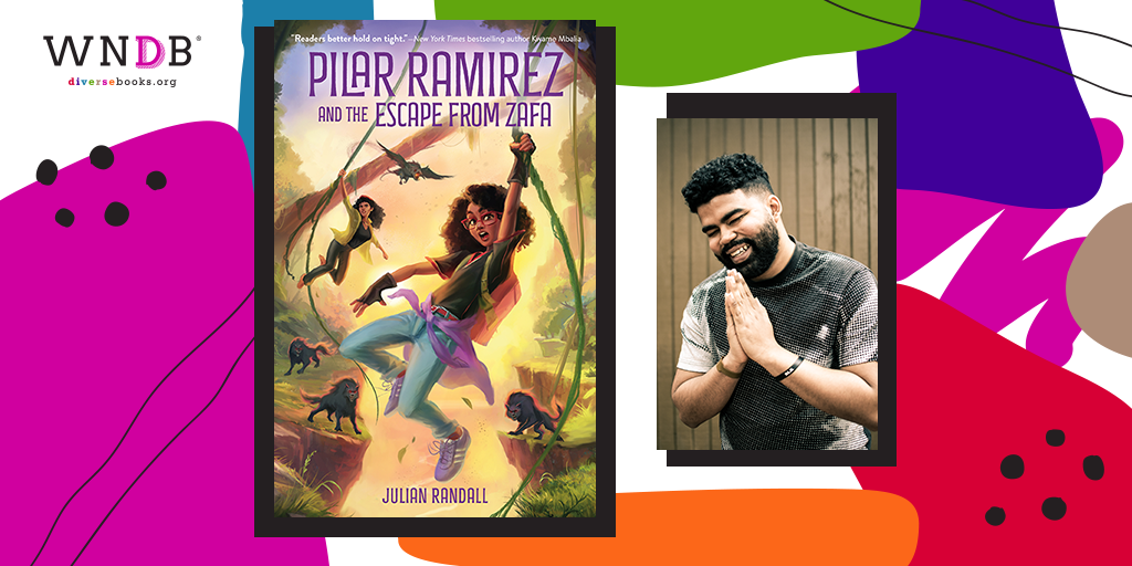 Cover Reveal for Pilar Ramirez and the Escape from Zafaby Julian Randall