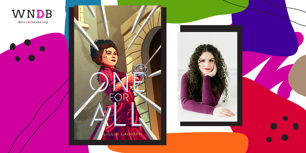 Cover Reveal for One for All by Lillie Lainoff