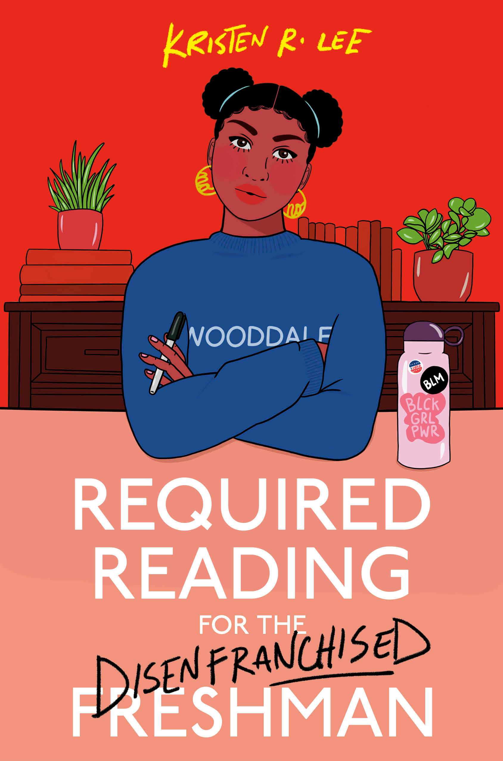 Cover for REQUIRED READING FOR THE DISENFRANCHISED FRESHMAN