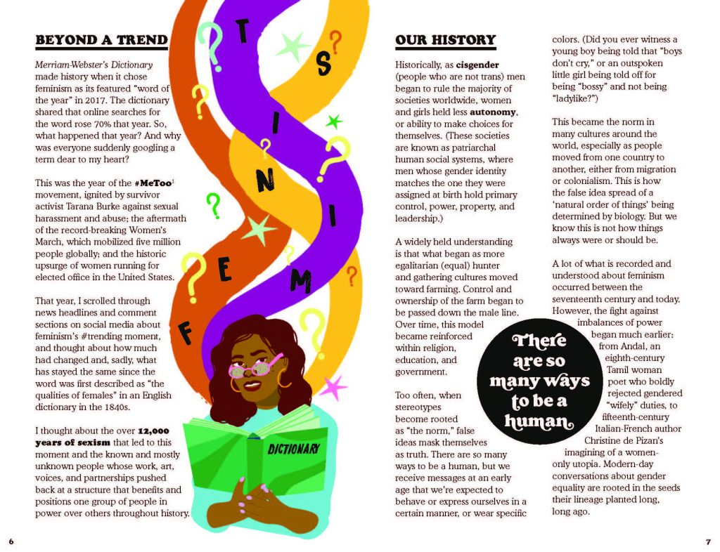 This Book is Feminist interior page 4