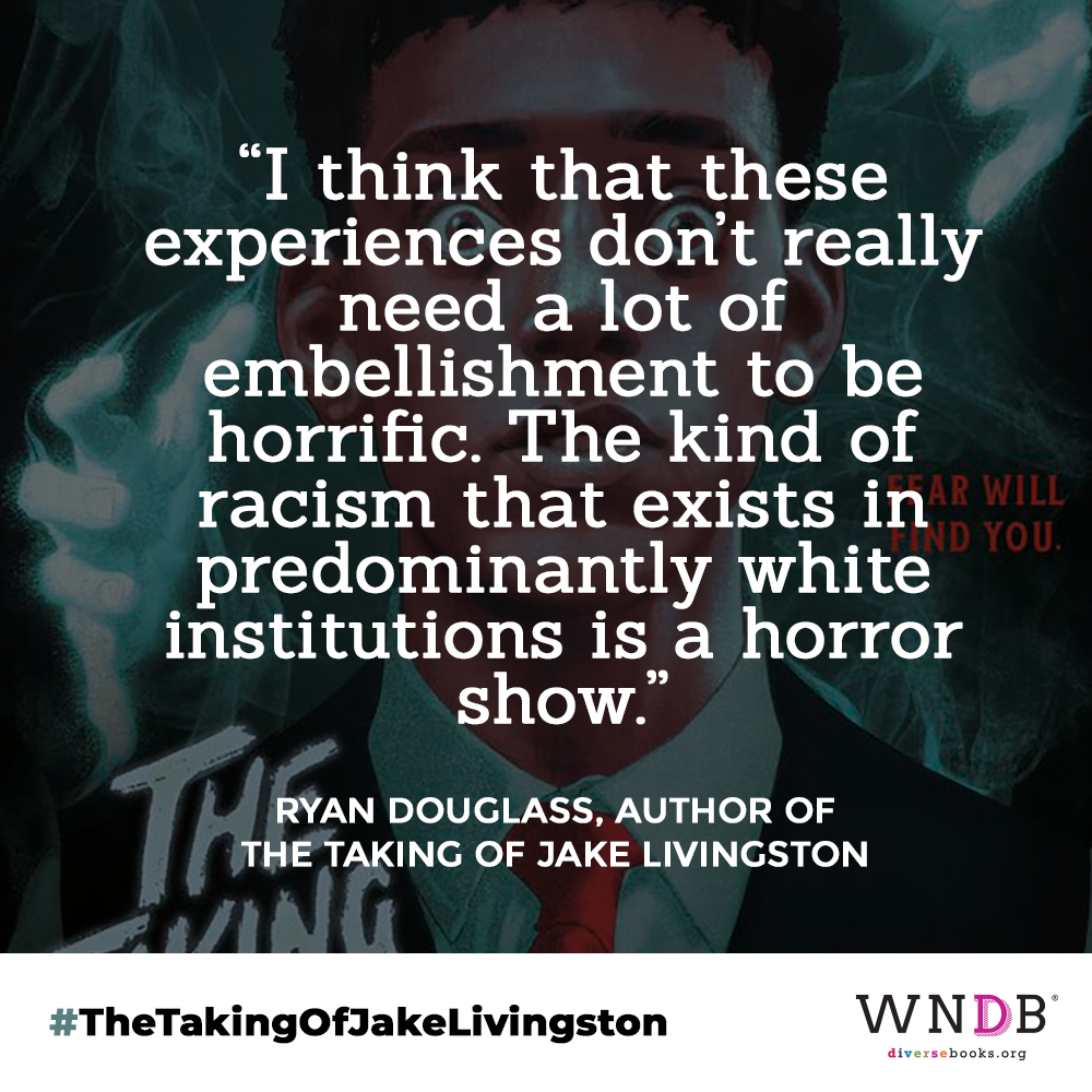 """""""I think that these experiences don't really need a lot of embellishment to be horrific,"""" Douglass said. """"The kind of racism that exists in predominantly white institutions is a horror show."""""""