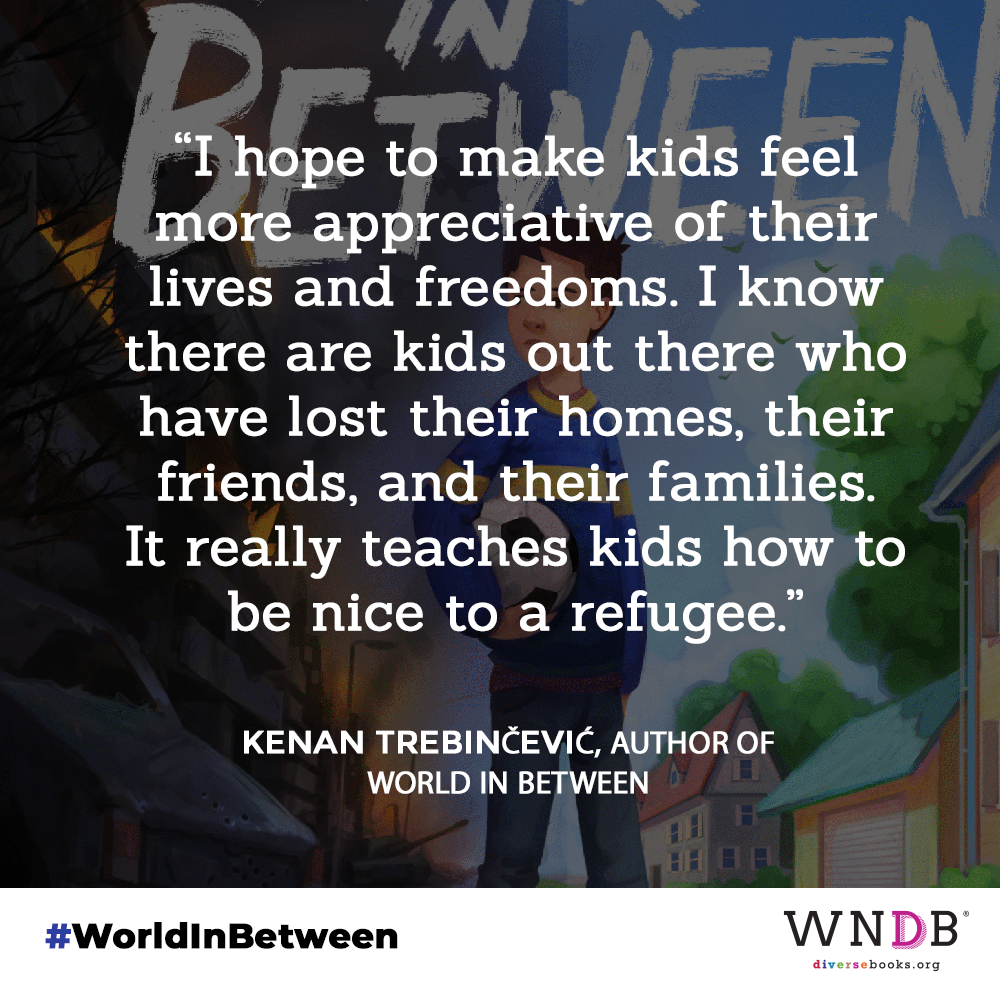 """""""I hope to make kids feel more appreciative of their lives and freedoms. I know there are kids out there who have lost their homes, their friends, and their families. It really teaches kids how to be nice to a refugee."""""""