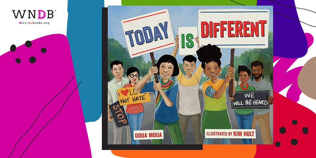 Cover Reveal for Today is Different by Doua Moua, Illustrated by Kim Holt