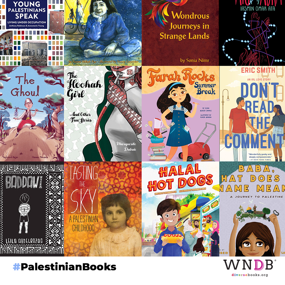 12 Children's and YA Books by Palestinian Authors