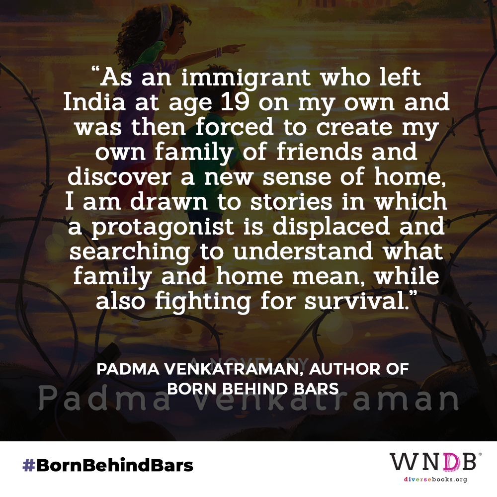 as an immigrant who left India at age 19 on my own and was then forced to create my own family of friends and discover a new sense of home, I am drawn to stories in which a protagonist is displaced and searching to understand what family and home mean, while also fighting for survival.
