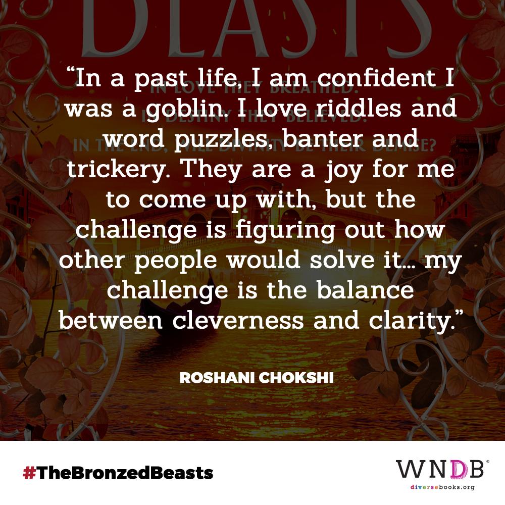 bronzed beasts roshani chokshi quote