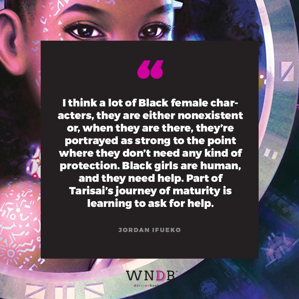 Jordan Ifueko redemptor quote