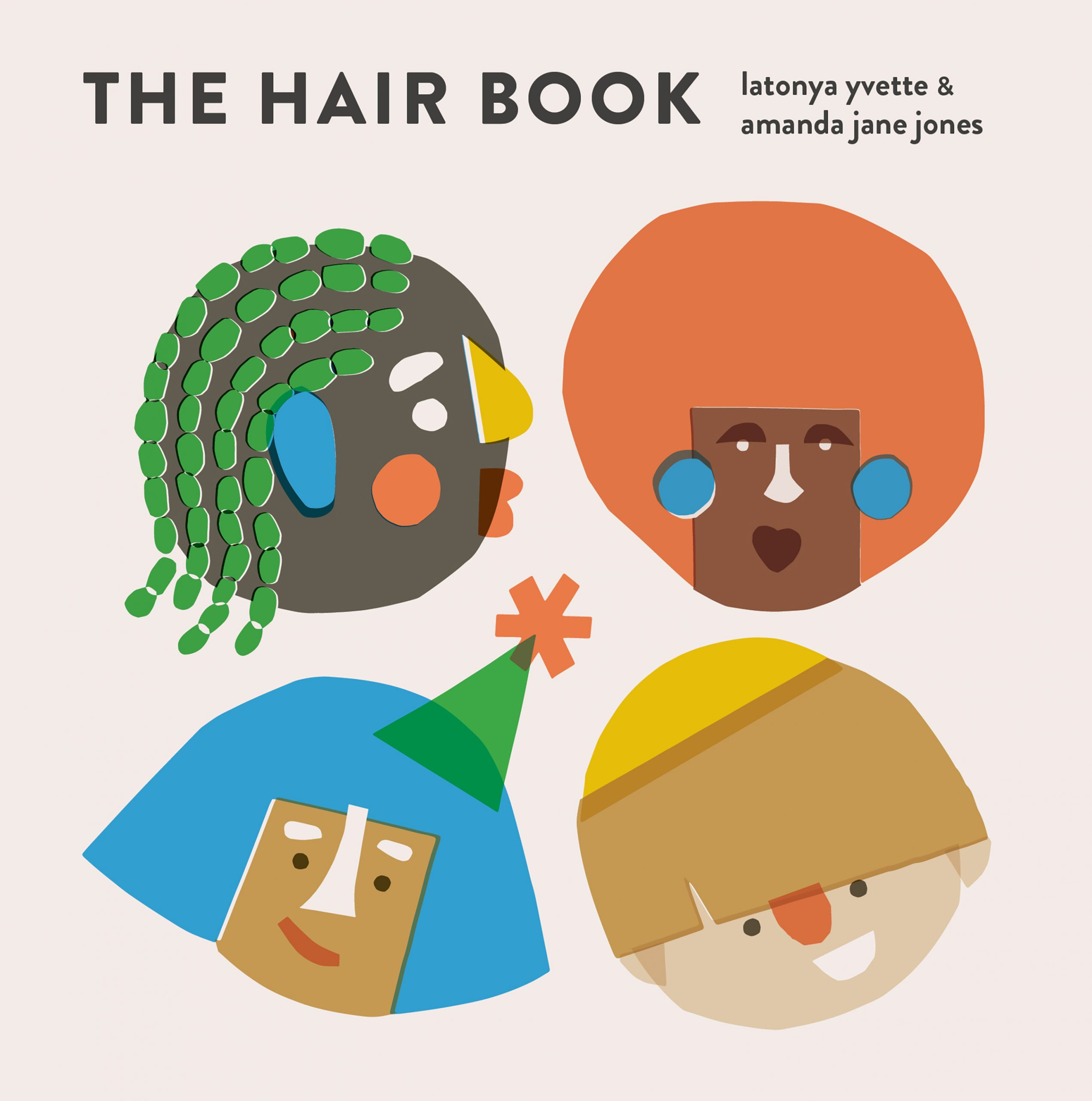 the hair book board cover