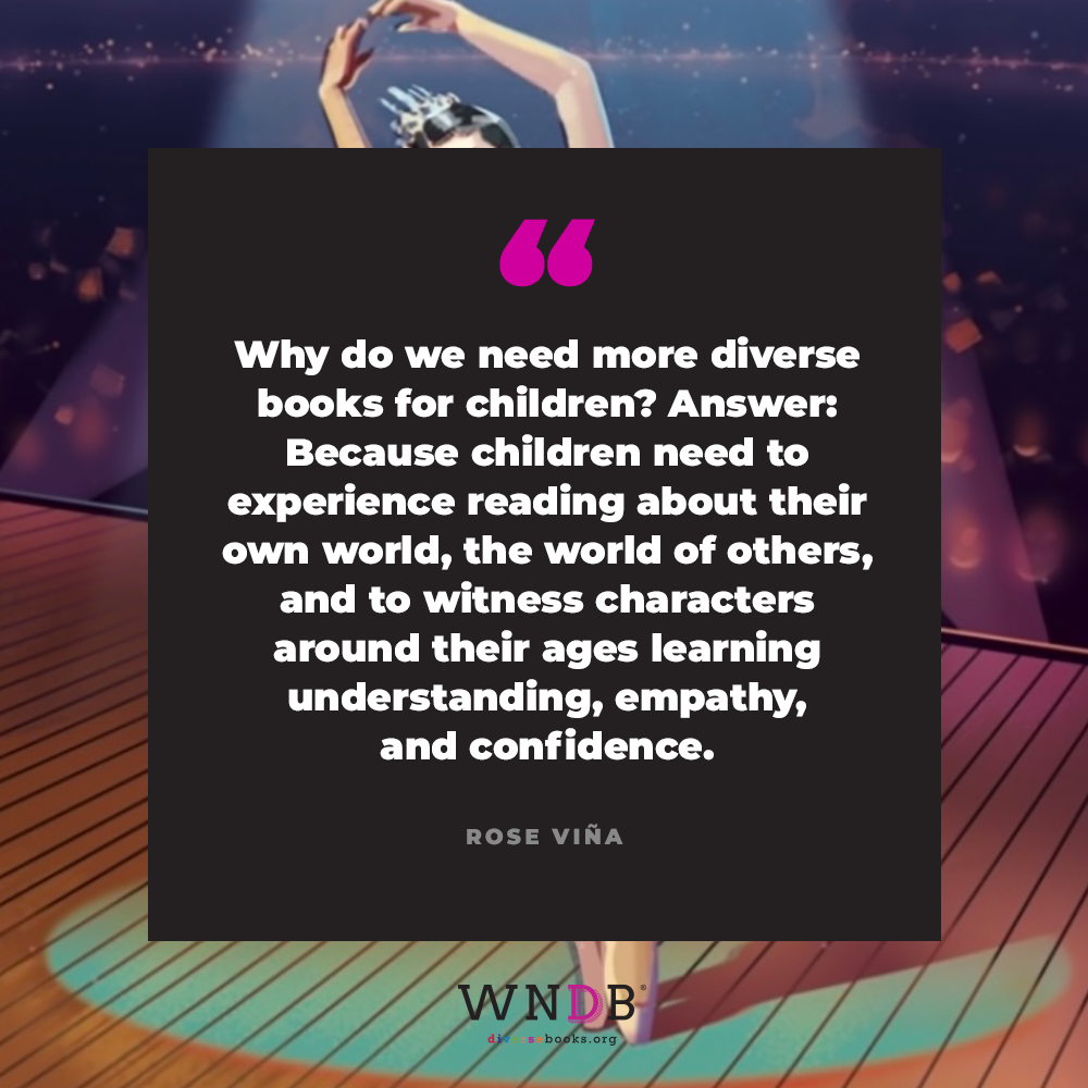 Why do we need more diverse books for children? Answer: Because children need to experience reading about their own world, the world of others, and to witness characters around their ages learning understanding, empathy, and confidence.