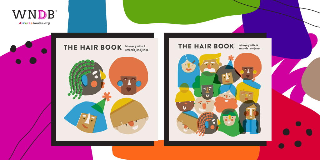 the hair book cover reveal header